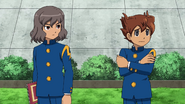 Shindou saying that there is no soccer club CS 1 HQ