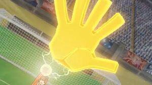 """Super god hand"" Inazuma Eleven Orion no Kokuin HD"
