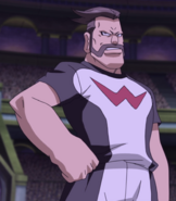 Kibayama in Zero's uniform (GO movie HQ)