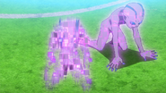 Storm Wolf's aliens being teleported away (Galaxy 18 HQ)