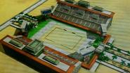 Desert Stadium in the 3DS Game