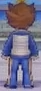 Tenma Back View Raimon Jacket GO Game