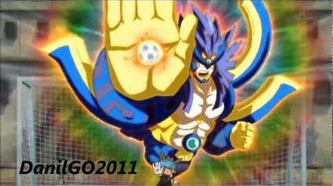 Inazuma Eleven GO Keshin Goseishin Titanias - Majin the Hand