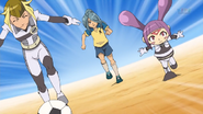 Kazemaru trying to catch up IE 45 HQ