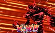 Jinkou Plasma Shadow SH Keshin Battle
