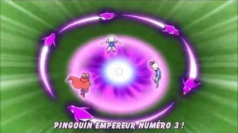 Inazuma Eleven - Emperor Penguin Nº3 G3 VS Shin God Hand X
