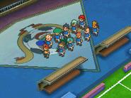Inazuma japan game sprite