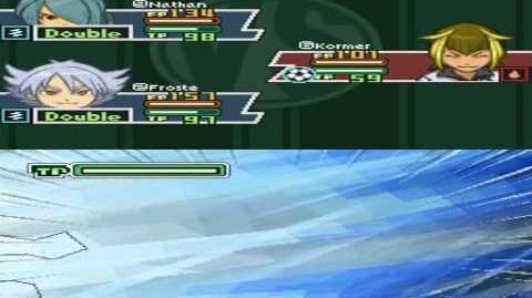 Inazuma Eleven 2 Firestorm Kormer - Lightning Sprint