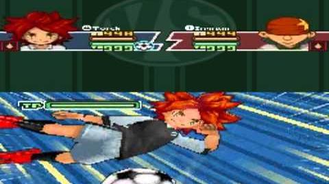 Inazuma Eleven 2 Firestorm Torch - Rolling Kick