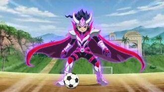 Inazuma Eleven Go (イナズマイレブン Go) - Kensei Lancelot 剣聖ランスロット Armed
