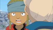 Nishigaki Mamoru in disbelief