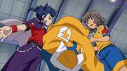 Tsurugi throwing uniform away GO 4 HQ