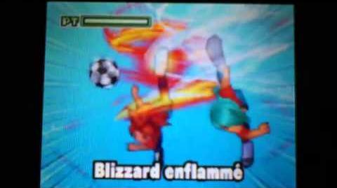 Inazuma eleven 2 blizzard enflammé-0