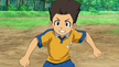 Tasuke in his Raimon uniform