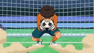 Sangoku caught the ball GO 15