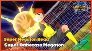 Super Megaton Head Super Cabezazo Megaton Los Chou Kinuns Inazuma Eleven - Orion no Kokuin
