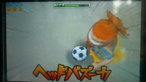 Inazuma Eleven GO 2 Chrono Stone Head Bazooka