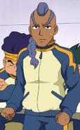 Ishikari in his Raimon jacket GO 3