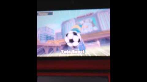 Inazuma Eleven - Tir Puissance 2 (Twin Boost)
