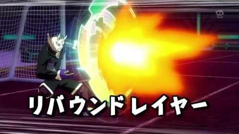 Inazuma Eleven GO Galaxy (Dead Straight VS Rebound Layer) HD