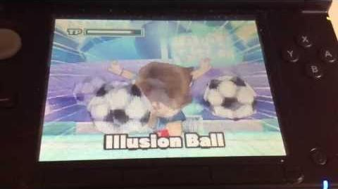 Inazuma Eleven 2 Firestorm Illusion Ball