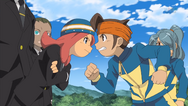 Endou and Touko arguing IE 29 HQ