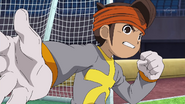 Endou disagreeing with Alpha