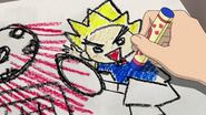 Yuuka's drawing of Gouenji IE 80