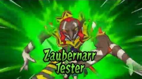 Inazuma Eleven GO - Zaubernarr Jester