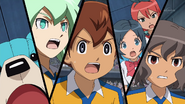 Raimon shocked about Endou CS 6 HQ