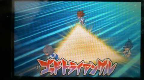 Inazuma Eleven GO 2 Chrono Stone God Triangle