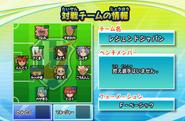 Inazuma Legend Japan formation IES 2013