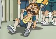 Kurimatsu scared when he sees the locker