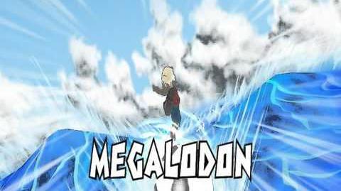 Inazuma Eleven Strikers Megalodon German