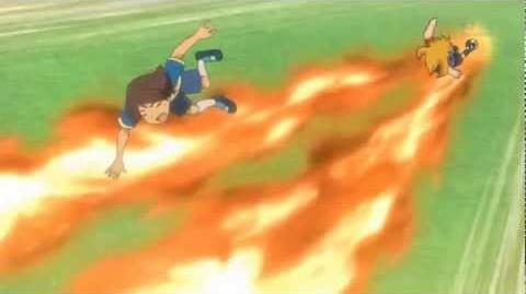 Inazuma Eleven (Super Once) - Fuego de Acero - Ignite Steal - HD