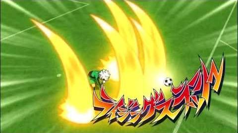 Inazuma Eleven GO Galaxy Rising Slash (ライジングスラッシュ) HD