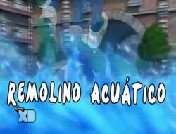 Remolino acuático anime 1