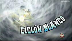 Ciclon blanco