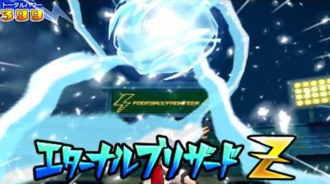 Inazuma Eleven Go 2 Chrono Stone Hissatsu Eternal Blizzard