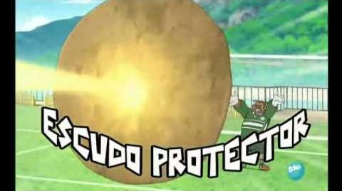 Inazuma eleven escudo protector