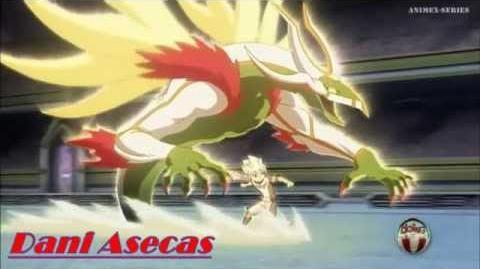 Inazuma Eleven GO Película Aliento Blanco vs Barrera de Gaia
