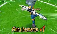 Finta bumerán +1