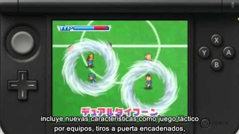 Anuncio Inazuma Eleven 3 Spark Bomber