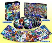 Inazuma Eleven GO - DVD BOX 3 - Galaxy + Posters