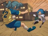 Ulvida attacking Kazemaru