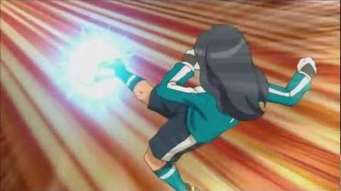 Inazuma Eleven GO 41 - Death Drop vs Shoot Break(HD)