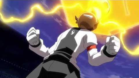 Inazuma Eleven GO VS Danball Senki W (イナズマイレブンGO vs ダンボール戦機W) Gigaton Head (ギガトンヘッド)