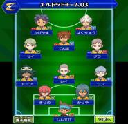 Formación de El Dorado Equipo 3 (VJ-Raimei)