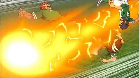 Inazuma Eleven GO Galaxy 9 - God Wind vs Dry Blow (ゴッドウィンド vs ドライ・ブロー)