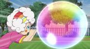 Tiro del Arcoiris de Burbujas HD3
